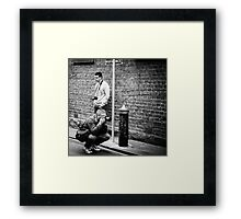 loitering with intent Framed Print
