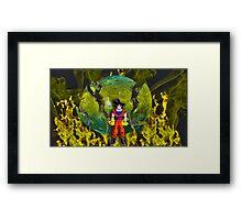 Goku (DBZ) Framed Print
