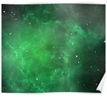 Deep Space - Green Poster