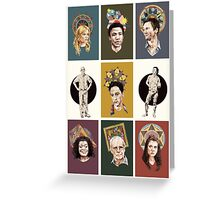 Saints of Greendale Greeting Card