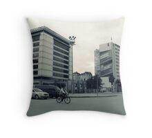The street Throw Pillow