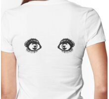 Eyes Tee Womens Fitted T-Shirt