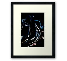 Header Glow Framed Print