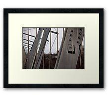 Esc Framed Print
