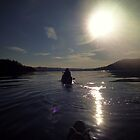 Canoeing Lake Windermere by WillBov