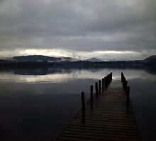 Overcast over Lake Windermere by WillBov