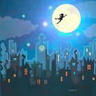 Peter Pan iPad by magzart