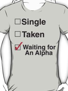 TEEN WOLF - WAITING FOR AN ALPHA T-Shirt
