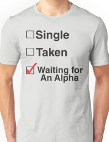 TEEN WOLF - WAITING FOR AN ALPHA Unisex T-Shirt