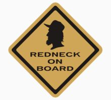 Redneck on Board (diamond) by Diabolical