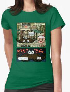 Mustache Loves Cupcake T-Shirt