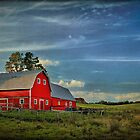 The Red Barn by Evelina Kremsdorf