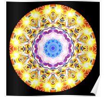 Solar Flare Kaleidoscope 001 Poster