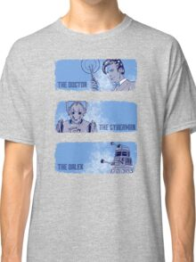 The Doctor, The Cyberman, and The Dalek Classic T-Shirt