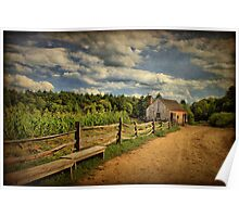 Picturesque Countryside  Poster