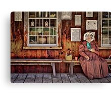 Back in the Days Canvas Print