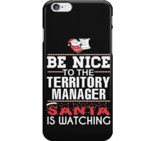 Territory Manager iPhone Case/Skin