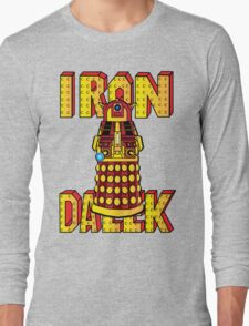 IRON DALEK Long Sleeve T-Shirt