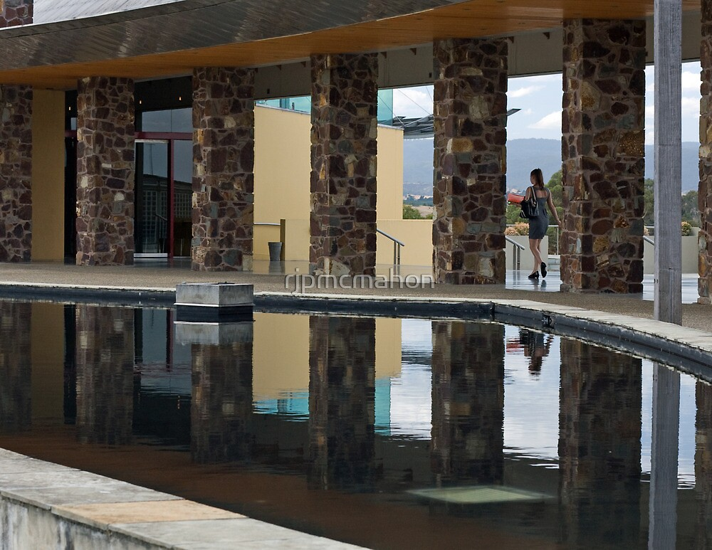 Reflection @ Chateu Yering 2 by rjpmcmahon