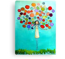Colors in You Canvas Print
