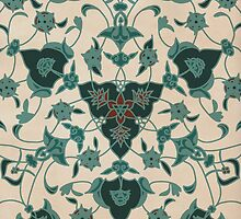 Iznik tiles by mycolour