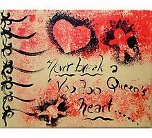 Voodoo Queen Photographic Print