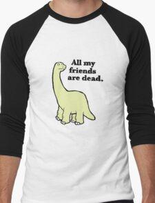 All My Pals Are Dead :( Men's Baseball ¾ T-Shirt