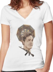 Xander Women's Fitted V-Neck T-Shirt