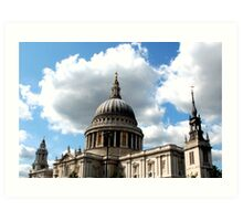 St Pauls Cathedrals Art Print