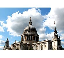 St Pauls Cathedrals Photographic Print