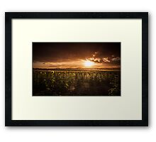 Time to say... Goodnight Framed Print