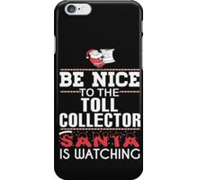 Toll Collector iPhone Case/Skin
