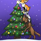 Tree Topper Tower by AylaStarDragon
