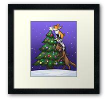 Tree Topper Tower Framed Print