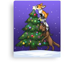 Tree Topper Tower Canvas Print