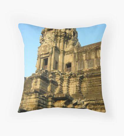 Angkor Wat Temple Throw Pillow