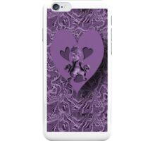 ღ♥¸¸.•*´¯`♥ღ PURPLE HEARTS OF LOVE IPHONE CASE  ღ♥¸¸.•*´¯`♥ღ iPhone Case/Skin