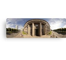 The Cabinet of Ministers of the Republic of Latvia, Riga panorama Canvas Print