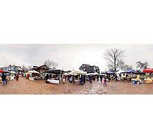 Trade fair panorama, Riga, Latvia Photographic Print