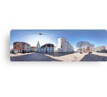 Riga Castle panorama, Riga, Latvia Canvas Print