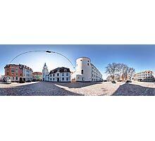 Riga Castle panorama, Riga, Latvia Photographic Print