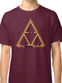 May the Triforce be with you Classic T-Shirt
