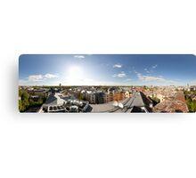 From the birds eye panorama, Riga, Latvia Canvas Print