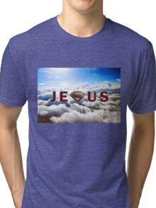 Jesus Superman Tri-blend T-Shirt