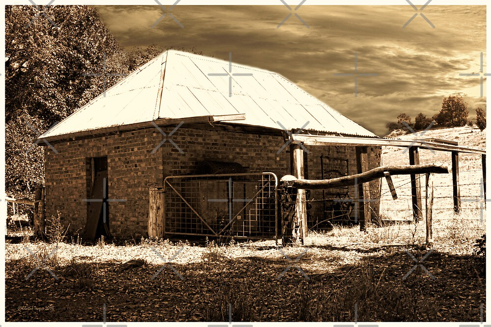 Blackwood Barn, Bridgetown, Western Australia #3 by Elaine Teague
