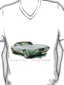 Rogue Custom Motorcycles PONTIAC FIREBIRD T SHIRT T-Shirt