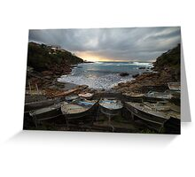 Gordon's Bay, Clovelly Greeting Card