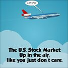 high flying u.s. stocks cartoon by Binary-Options