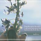 Psalm 61:2 by jeune-jaune