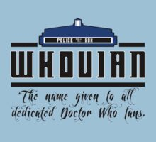 Whovian definition Kids Clothes